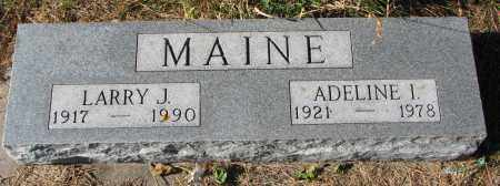 MAINE, LARRY J. - Yankton County, South Dakota | LARRY J. MAINE - South Dakota Gravestone Photos