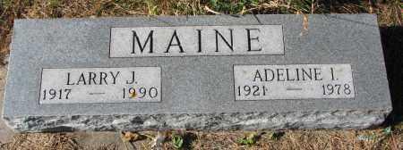 MAINE, ADELINE I. - Yankton County, South Dakota | ADELINE I. MAINE - South Dakota Gravestone Photos