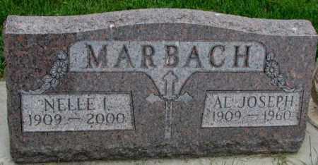 MARBACH, NELLE I. - Yankton County, South Dakota | NELLE I. MARBACH - South Dakota Gravestone Photos