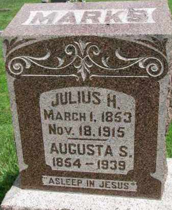 MARKS, AUGUSTA S. - Yankton County, South Dakota | AUGUSTA S. MARKS - South Dakota Gravestone Photos