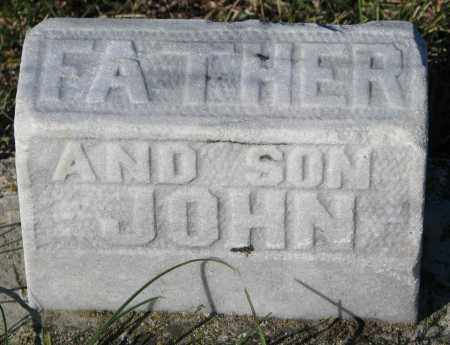 MARSHALL, FATHER & JOHN - Yankton County, South Dakota | FATHER & JOHN MARSHALL - South Dakota Gravestone Photos