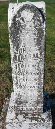 MARSHALL, JOHN - Yankton County, South Dakota | JOHN MARSHALL - South Dakota Gravestone Photos