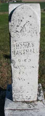 MARSHALL, THOMAS - Yankton County, South Dakota | THOMAS MARSHALL - South Dakota Gravestone Photos