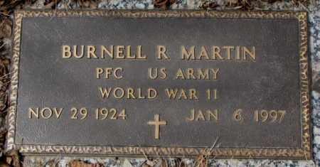 MARTIN, BURNELL R. (WW II) - Yankton County, South Dakota   BURNELL R. (WW II) MARTIN - South Dakota Gravestone Photos