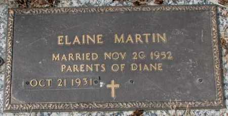 MARTIN, ELAINE - Yankton County, South Dakota | ELAINE MARTIN - South Dakota Gravestone Photos