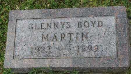 MARTIN, GLENNYS - Yankton County, South Dakota | GLENNYS MARTIN - South Dakota Gravestone Photos