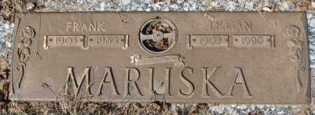 MARUSKA, FRANK - Yankton County, South Dakota | FRANK MARUSKA - South Dakota Gravestone Photos