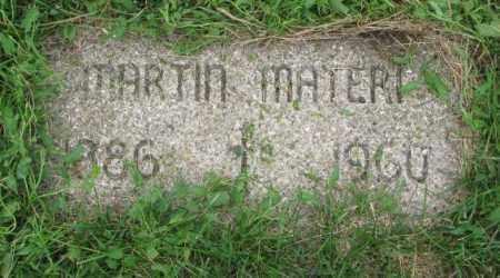 MATERI, MARTIN - Yankton County, South Dakota   MARTIN MATERI - South Dakota Gravestone Photos