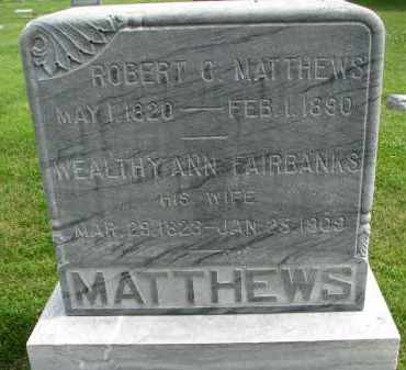 MATTHEWS, WEALTHY ANN - Yankton County, South Dakota | WEALTHY ANN MATTHEWS - South Dakota Gravestone Photos