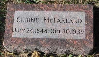 MCFARLAND, GURINE - Yankton County, South Dakota | GURINE MCFARLAND - South Dakota Gravestone Photos