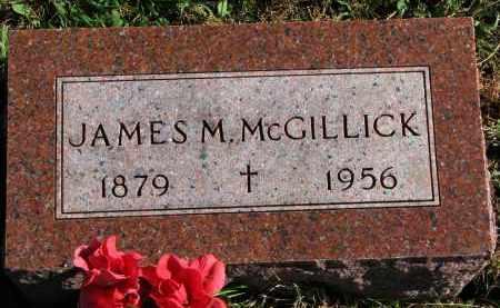 MCGILLICK, JAMES M. - Yankton County, South Dakota | JAMES M. MCGILLICK - South Dakota Gravestone Photos
