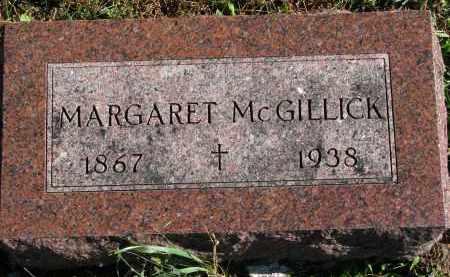 MCGILLICK, MARGARET - Yankton County, South Dakota | MARGARET MCGILLICK - South Dakota Gravestone Photos