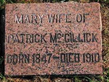 MCGILLICK, MARY - Yankton County, South Dakota | MARY MCGILLICK - South Dakota Gravestone Photos