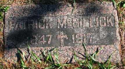 MCGILLICK, PATRICK - Yankton County, South Dakota | PATRICK MCGILLICK - South Dakota Gravestone Photos