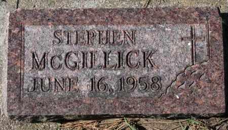 MCGILLICK, STEPHEN - Yankton County, South Dakota | STEPHEN MCGILLICK - South Dakota Gravestone Photos
