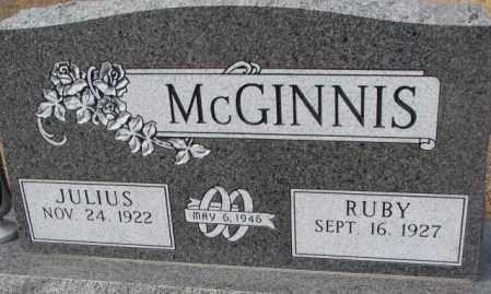 MCGINNIS, RUBY - Yankton County, South Dakota   RUBY MCGINNIS - South Dakota Gravestone Photos