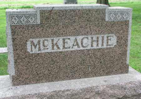 MCKEACHIE, FAMILY STONE - Yankton County, South Dakota   FAMILY STONE MCKEACHIE - South Dakota Gravestone Photos