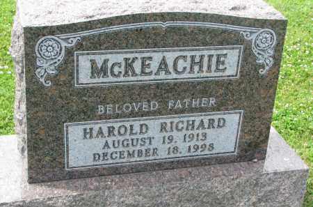 MCKEACHIE, HAROLD RICHARD - Yankton County, South Dakota | HAROLD RICHARD MCKEACHIE - South Dakota Gravestone Photos