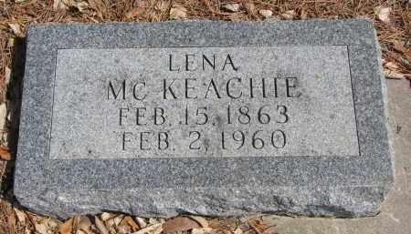 MCKEACHIE, LENA - Yankton County, South Dakota | LENA MCKEACHIE - South Dakota Gravestone Photos