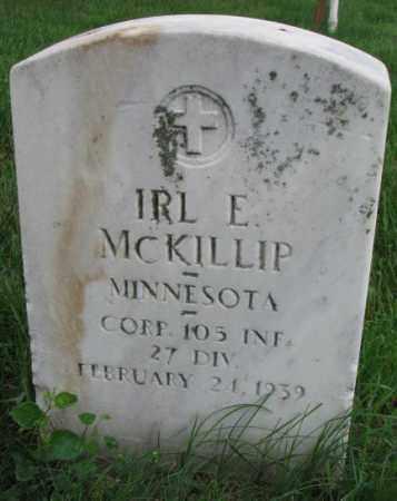 MCKILLIP, IRL E. - Yankton County, South Dakota   IRL E. MCKILLIP - South Dakota Gravestone Photos