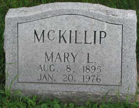 MCKILLIP, MARY L. - Yankton County, South Dakota | MARY L. MCKILLIP - South Dakota Gravestone Photos