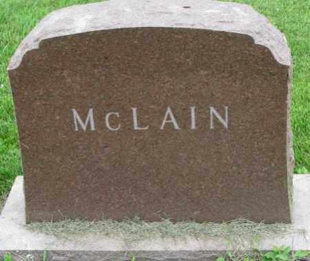 MCLAIN, PLOT - Yankton County, South Dakota | PLOT MCLAIN - South Dakota Gravestone Photos