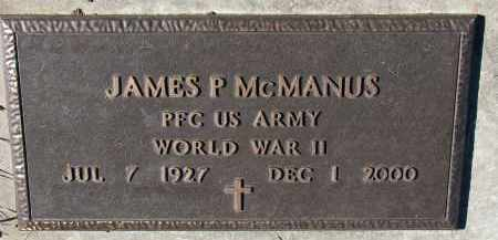 MCMANUS, JAMES P. (WW II) - Yankton County, South Dakota | JAMES P. (WW II) MCMANUS - South Dakota Gravestone Photos