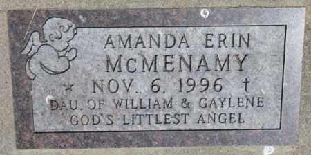 MCMENAMY, AMANDA ERIN - Yankton County, South Dakota | AMANDA ERIN MCMENAMY - South Dakota Gravestone Photos