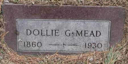 MEAD, DOLLIE G. - Yankton County, South Dakota | DOLLIE G. MEAD - South Dakota Gravestone Photos