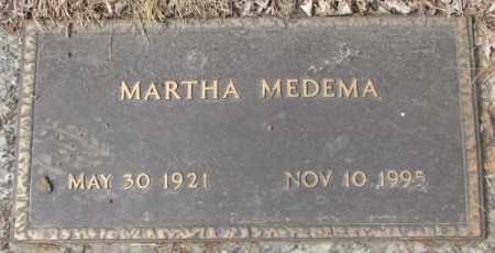 MEDEMA, MARTHA - Yankton County, South Dakota | MARTHA MEDEMA - South Dakota Gravestone Photos
