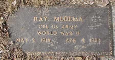MEDEMA, RAY - Yankton County, South Dakota   RAY MEDEMA - South Dakota Gravestone Photos