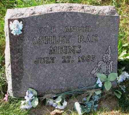 MEINS, ASHLEY RAE - Yankton County, South Dakota | ASHLEY RAE MEINS - South Dakota Gravestone Photos