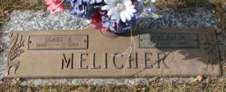 MELICHER, JAMES E. - Yankton County, South Dakota | JAMES E. MELICHER - South Dakota Gravestone Photos