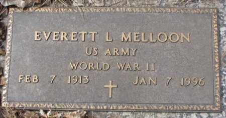 MELLOON, EVERETT L. - Yankton County, South Dakota | EVERETT L. MELLOON - South Dakota Gravestone Photos