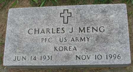 MENG, CHARLES J. - Yankton County, South Dakota | CHARLES J. MENG - South Dakota Gravestone Photos