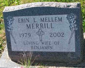 MERRILL, ERIN L. - Yankton County, South Dakota | ERIN L. MERRILL - South Dakota Gravestone Photos