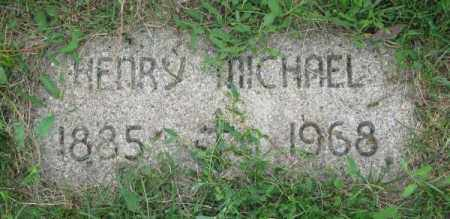 MICHAEL, HENRY - Yankton County, South Dakota | HENRY MICHAEL - South Dakota Gravestone Photos