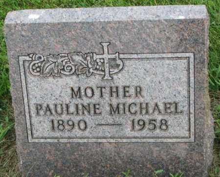 MICHAEL, PAULINE - Yankton County, South Dakota | PAULINE MICHAEL - South Dakota Gravestone Photos