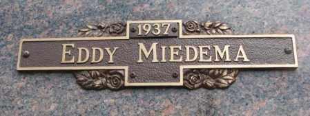 MIEDEMA, EDDY - Yankton County, South Dakota   EDDY MIEDEMA - South Dakota Gravestone Photos