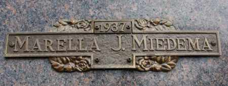 MIEDEMA, MARELLA J. - Yankton County, South Dakota | MARELLA J. MIEDEMA - South Dakota Gravestone Photos