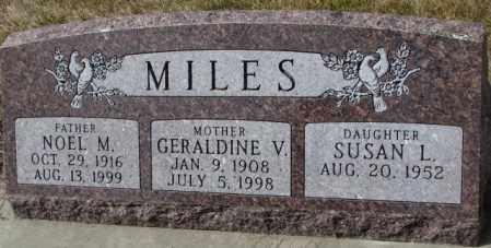 MILES, SUSAN L. - Yankton County, South Dakota | SUSAN L. MILES - South Dakota Gravestone Photos