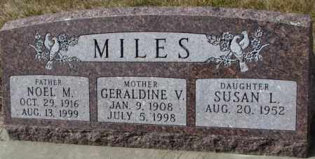 MILES, NOEL M. - Yankton County, South Dakota | NOEL M. MILES - South Dakota Gravestone Photos