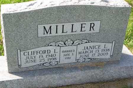 MILLER, JANICE L. - Yankton County, South Dakota | JANICE L. MILLER - South Dakota Gravestone Photos