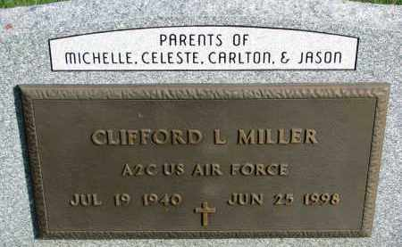 MILLER, CLIFFORD L. (MILITARY) - Yankton County, South Dakota | CLIFFORD L. (MILITARY) MILLER - South Dakota Gravestone Photos