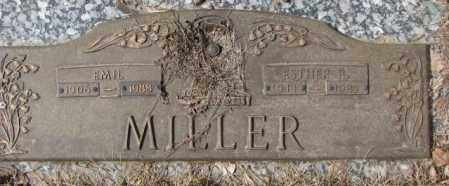 MILLER, ESTHER R. OR B.? - Yankton County, South Dakota | ESTHER R. OR B.? MILLER - South Dakota Gravestone Photos