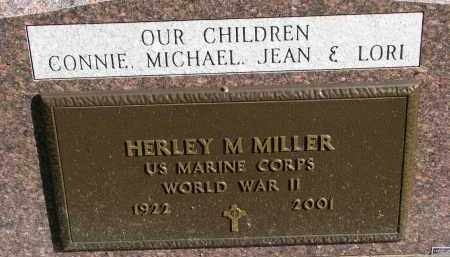 MILLER, HERLEY M. (WW II) - Yankton County, South Dakota | HERLEY M. (WW II) MILLER - South Dakota Gravestone Photos