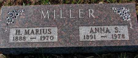 MILLER, ANNA S. - Yankton County, South Dakota | ANNA S. MILLER - South Dakota Gravestone Photos