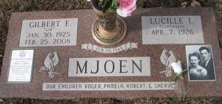 SORENSEN MJOEN, LUCILLE L - Yankton County, South Dakota | LUCILLE L SORENSEN MJOEN - South Dakota Gravestone Photos