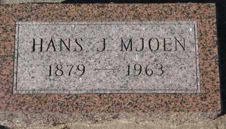 MJOEN, HANS J. - Yankton County, South Dakota   HANS J. MJOEN - South Dakota Gravestone Photos