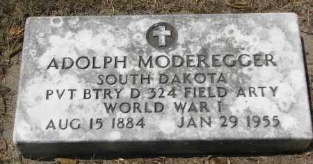 MODEREGGER, ADOLPH - Yankton County, South Dakota | ADOLPH MODEREGGER - South Dakota Gravestone Photos